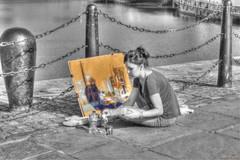 Liverpool Artist (Billy McDonald) Tags: hdr liverpool artist albertdock selectivecolour liverpoolartist docks