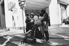 Shinjuku, Tokyo (fabiolug) Tags: kids kid children child balloon balloons people street streetphotography tokyo japan japanese asia leicamp leica mp rangefinder film filmphotography believeinfilm blackandwhite blackwhite bw kodaktrix400 trix400 kodak trix kodaktrix leicaelmarit28mmf28asph elmarit28mmf28asph elmarit28mm leicaelmarit28mm 28mm elmarit leicaelmarit wide wideangle