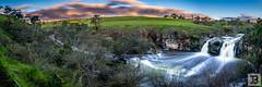 Turpins Falls (Joel Bramley) Tags: panoramic long exposure landscape waterfall water australia victoria nature sunset