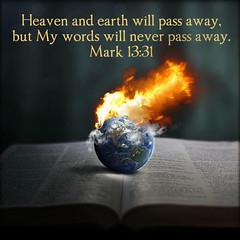 Mark 13:31 (joshtinpowers) Tags: mark bible scripture