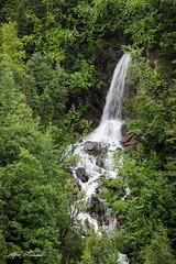 Thompson Pass Waterfall (Alfred J. Lockwood Photography) Tags: alfredjlockwood nature landscape waterfall thompsonpass alaska richardsonhighway summer afternoon overcast chugachmountains