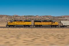 Potash Pacing (shawn_christie1970) Tags: up1482 potash utah up1019 unionpacific pase train railroad desert up emd gp40m2 gp60