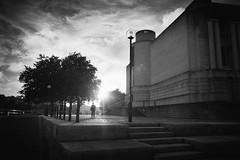 3532 (gcu_sketcher) Tags: xpro1 xf18 bw silverefexpro street bristol harbourside sunset september architecture city