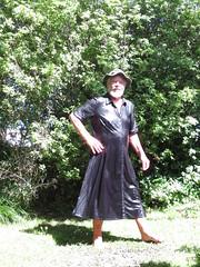 Glistening wet in the sun. (Jack Williams) Tags: men wet fashion fun freestyle frolic auckland dresses wetlook skirted meninfrocks frocks frolics menindresses mandress wetguy