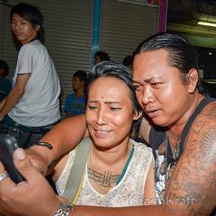 Wai Khru (Master's Day) (krashkraft) Tags: tattoo thailand bangkok buddhist magic thai sacred mystic teachersday allrightsreserved 2012 waikhru mastersday  krashkraft