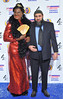 The British Comedy Awards 2012 held at the Fountain Studios - Kayvan Novak (L) and guest