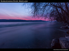 First Shot and Light of the Day -- Susquehanna River 12-15-12 (1) (ken.krach (kjkmep)) Tags: morning trees water sunrise river rocks maryland susquehanna susquehannastatepark marylandstatepark marylandnature