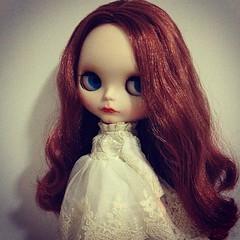 #blythe my second custom blythe---Natalie