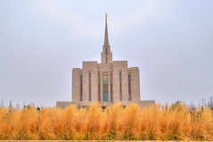 Oquirrh Mountain Utah LDS Temple (Adam's Attempt (at a good photo)) Tags: mountain architecture angel clouds utah weeds nikon cloudy mormon lds hdr moroni oquirrh angelmoroni d90 photomatix ldstemple tonemapped lr4 thehouseofthelord utahldstermple oquirrhmountainutahldstemple