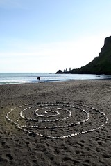 Vk  Mrdal - Verso i faraglioni di Reynisdrangar (*maya*) Tags: costa beach iceland sand shore ash spiaggia sabbia islanda faraglioni reynisdrangar cenere suurland reynisfjall vikymyrdal