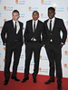 Tom Cleverley, Ashley Young, Danny Welbeck Manchester United Football Team attend the UNICEF Gala Dinner