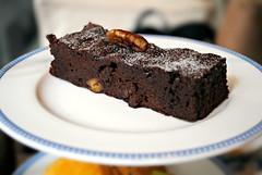 Walnut Brownie (FoodishFetish) Tags: food asian afternoon tea taiwan sweets taipei salut