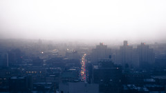 South Brooklyn (Guillermo Murcia) Tags: city nyc newyorkcity winter urban usa newyork rooftop rain misty fog brooklyn america nikon traffic south vehicles gotham urbanism 4thavenue downtownbrooklyn d600 theviewfromhere capitaloftheworld newyorkcityboroughs guillermomurcia