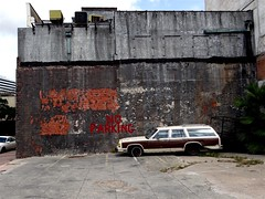 No Parking (Jay Phagan) Tags: ford abandoned car rust derelict stationwagon corpuschristitexas