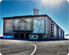 Warehouse No. 1 (millerm217) Tags: cameraphone ocean california ca building architecture port harbor pier losangeles unitedstates vivid storage historic warehouse hdr sanpedro pierone marineresearchcenter citydocknumber1 altasea