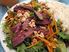 Thai Beef Salad (you can count on me) Tags: salad chili peanuts steak greens peppers onion spicy fishsauce skirtsteak poppytalk