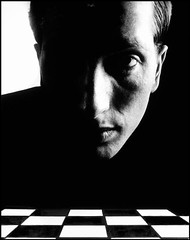 Halsman, Philippe (1906-1979) - 1967 Bobby Fischer, NYC (RasMarley) Tags: newyorkcity portrait photographer surrealism chess american 1967 1960s 20thcentury bobbyfischer latvian halsman philippehalsman