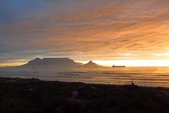 (warrenski) Tags: sunset sky sun beach geotagged capetown tablemountain dramaticskies dolphinbeach geo:lat=33822886 geo:lon=18476943