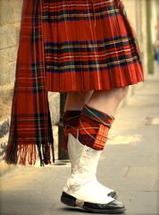 Colors of traditional scottish kilt (Dragos Cosmin- Getty Images Artist) Tags: street city ireland red musician music irish holiday man black heritage fashion festival socks scott fur scotland costume highlands outfit shoes uniform pin pattern kilt play folk walk traditional pipe performance band ceremony knife highlander scottish folklore skirt parade wear clothes celebration musical scot national weapon orchestra instrument ribbon celtic perform tradition clan celebrate celebrating tartan bagpipe spats accessory scotsman gaiter chequers dubh sgian sgain cutikins
