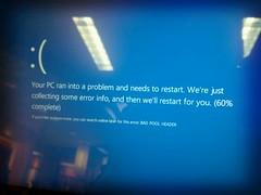 new bsod. (Ninja M.) Tags: windows bluescreenofdeath windows8 flickrandroidapp:filter=tokyo