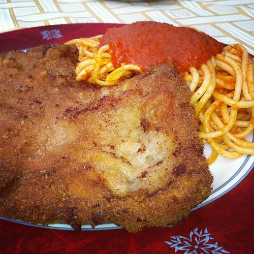 #escalope #milanaise #food #foodporn