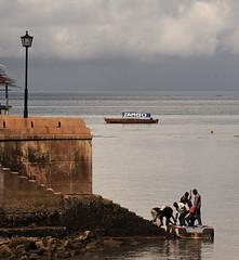 Jambo (Jonesxxx) Tags: boat streetlamp horizon steps zanzibar jambo stonetwon