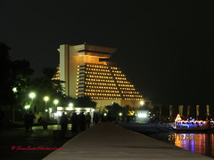 -   (Feras Qaddoora) Tags: night hotel shot state resort corniche sheraton resorts doha qatar      korniche