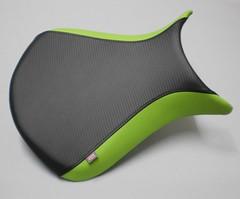 tapizar asiento moto ZX-6R (Tapizados y gel para asientos de moto) Tags: verde kawasaki zx6r asiento carbono tapizado tapizar