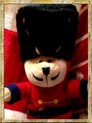 Starbucks 2012 Xmas Bear (welovethedark) Tags: christmas starbucks teddybear plushie toysoldier iphone iphonephoto iphonecamera iphonecameraapps starbucks2012holidaybear