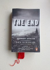 The End. (@Jenny@) Tags: wool end knitted bookmark 2012 week52 522012 52weeksthe2012edition weekofdecember23bookauthorlibrary