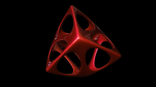 """tetrahedron spiky soft • <a style=""""font-size:0.8em;"""" href=""""http://www.flickr.com/photos/30735181@N00/8326482564/"""" target=""""_blank"""">View on Flickr</a>"""