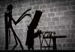 Prof Layton Series (Shadow) (John P Norton) Tags: manual f11 lightplay ef100mmf28macrousm 140sec focallength100mm professorlayton canoneos5dmarkiii copyright2012johnnorton