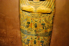 Decoration on a mummy-board (konde) Tags: osiris ancientegypt 21stdynasty mummyboard 22nddynasty thirdintermediateperiod khepher muumiotmatkakuolemanvaltakuntaan