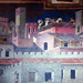 Detail of construction from Ambrogio Lorenzetti's Effects of Good Government in the City and the Country