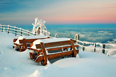 Good evening from Switzerland (ceca67) Tags: winter switzerland 2012 rigi rigikulm