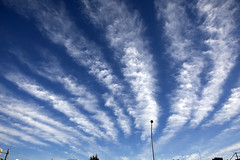 Sky on New Year's Day (January 1, 2013) (DigiPub) Tags: blue sky cloud explore  gettyimages  newyearsday   isogo