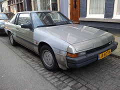 1983 Mazda 929 Coupe (automatic) (Skitmeister) Tags: auto classic netherlands car vintage voiture oldtimer 2012 pkw carspot skitmeister jr80yn sidecode4