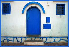 Ifni Blues No.6 (mhobl) Tags: blue doors morocco maroc marokko sidiifni türen hingebröselt
