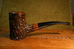 Tall Bent Poker Briar Pipe (KraigSeder) Tags: wood handmade pipe poker cutty tobacco biar