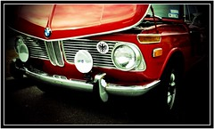retro bimmer... (Baja Juan) Tags: coffee car automobile san texas antique retro bmw rides baja antonio bimmer carshoe