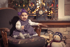 Mila (Tanya Shevchuk) Tags: baby kids fireplace holidays pretty sweet newyear