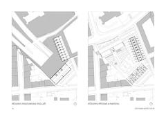 Dostavba Sacré Coeur. Floor plans