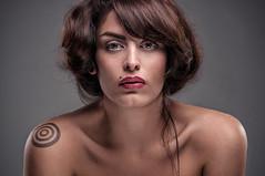 (senza studio) Tags: light girl beauty hair studio model skin makeup lips assault tatoo palermo