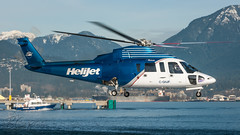 C-GHJP - Helijet International - Sikorsky S-76A (bcavpics) Tags: canada vancouver chopper britishcolumbia aircraft aviation helicopter international heli helijet sikorsky s76a cghjp bcpics cbc7