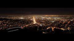 Twin Peaks, San Francisco CA (martin L photography) Tags: sanfrancisco street bridge skyline night canon landscape bay san francisco market sfmoma twinpeaks marketplace canon5dmkii 24lf14
