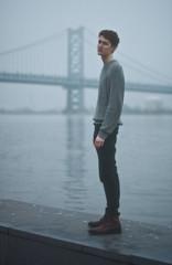 untitled (James K Evans) Tags: boy philadelphia fog lol fat