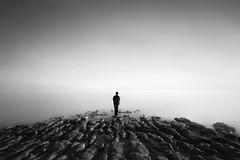 self &  solitude (nlwirth) Tags: longexposure selfportrait yup drakesbeach fucka nlwirth nathanwirth