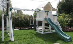 IMG_0921 (Swing Set Solutions) Tags: set play swings vinyl slide structure swing solutions playset polyvinyl
