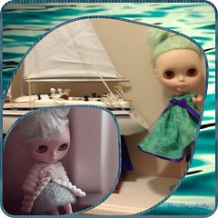 A babe at sea ... Ahoy! 52 week of Blythe 2013 (2/52) #blythe #blythestagram