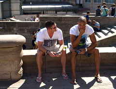 Boyz (Rick & Bart) Tags: barcelona people sexy male men candid strangers guys sagradafamilia mensen mannen jongens everydaypeople vreemden rickbart thebestofday gnneniyisi rickvink